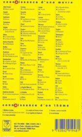 Quatrevingt-treize, de Victor Hugo - 4ème de couverture - Format classique