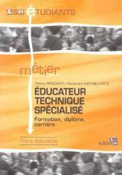 Educateur Technique Specialise - Intérieur - Format classique