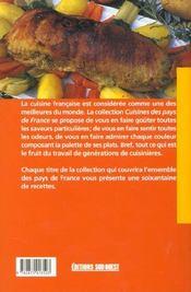 Cuisine auvergnate (la)/poche - 4ème de couverture - Format classique
