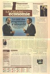 Figaro Economie (Le) N°21038 du 22/03/2012 - Couverture - Format classique