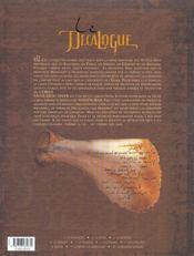 Le décalogue t.10 ; la dernière sourate - 4ème de couverture - Format classique