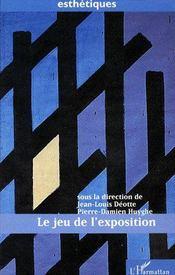Le jeu de l'exposition - Couverture - Format classique