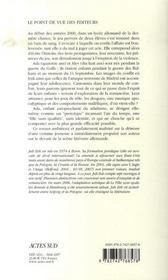 La Fille Sans Qualites - 4ème de couverture - Format classique