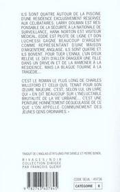 L'Ile Flottante Infestee De Requins - 4ème de couverture - Format classique