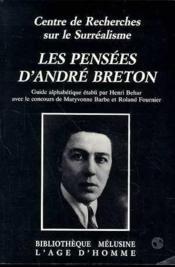 Pensees D'Andre Breton (Les) - Couverture - Format classique