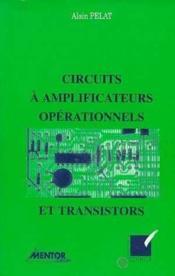 Circuits A Amplificateur Operationnels - Couverture - Format classique