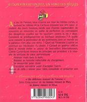 Si L'Amour Est Un Jeu En Voici Les Regles - 4ème de couverture - Format classique