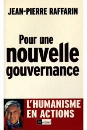 Pour Une Nouvelle Gouvernance - Couverture - Format classique