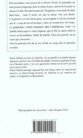 Pain De Cendre (Poche) (Le)Reimpression - 4ème de couverture - Format classique