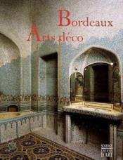 Bordeaux Arts Déco - Couverture - Format classique
