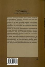 Les escargots élevages - 4ème de couverture - Format classique
