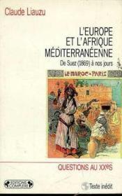 L'Europe Et L'Afrique Mediterraneenne - Couverture - Format classique