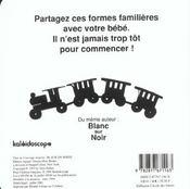 Noir Sur Blanc - 4ème de couverture - Format classique