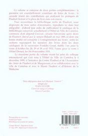 La Bibliotheque De Flaubert ; Inventaires Et Critiques - 4ème de couverture - Format classique
