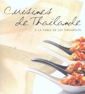Cuisines de Thaïlande ; à la table de Jim Thompson - Intérieur - Format classique