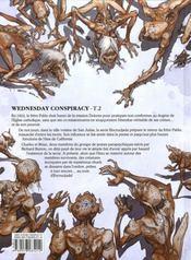 Wednesday Conspiracy T.2 ; Encrucijada - 4ème de couverture - Format classique