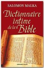Vente  Dictionnaire intime de la Bible  - Salomon Malka