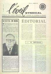 Eveil Syndical (L') N°130 du 01/10/1960 - Couverture - Format classique