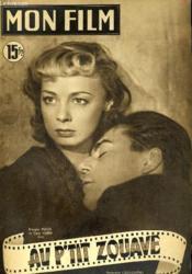 Mon Film N° 218 - Au P'Tit Zouave - Couverture - Format classique