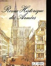 Revue Historique Des Armees -Numero 3-1981 - Couverture - Format classique