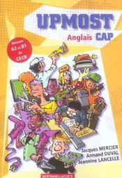 Upmost ; anglais CAP ; manuel de l'élève - Intérieur - Format classique
