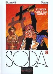 Soda t.5 ; fureur chez les saints - Couverture - Format classique