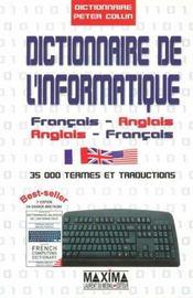 Dictionnaire bilingue informatique francais-anglais/anglais-francais - Intérieur - Format classique