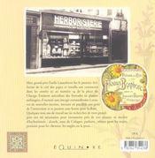 Memoires D'Un Herboriste - 4ème de couverture - Format classique