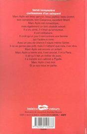 Confessions D Un Salopard - 4ème de couverture - Format classique