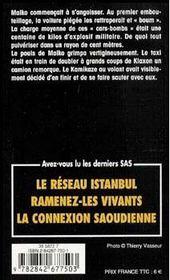 Sas T.157 ; Otages En Irak - 4ème de couverture - Format classique
