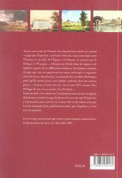 Napoleon, Les Lieux Du Pouvoir - 4ème de couverture - Format classique