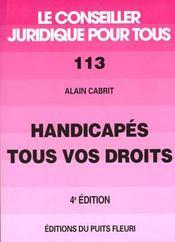 Handicapés, Tous Vos Droits - Intérieur - Format classique