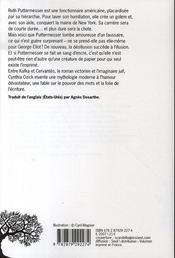 Les Papiers De Puttermesser - 4ème de couverture - Format classique