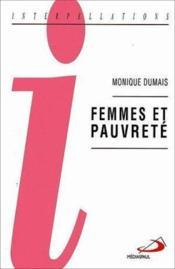 Femmes et pauvrete - Couverture - Format classique