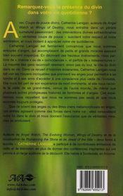 Coups de pouce divins ; récit d'interventions angéliques - 4ème de couverture - Format classique