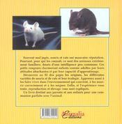 J'élève... souris et rats - 4ème de couverture - Format classique