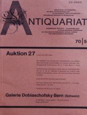 Antiquariat N°5 - Couverture - Format classique