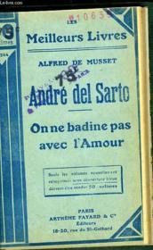 Andre Del Sarto - On Ne Badine Pas Avec L'Amour - Couverture - Format classique