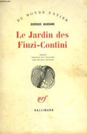 Le Jardin Des Finzi-Contini. - Couverture - Format classique