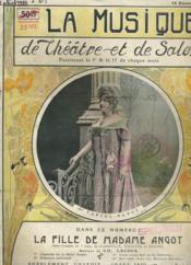LA MUSIQUE DE THEATRE ET DE SALON - 1 ere ANNEE - N°1 - Couverture - Format classique