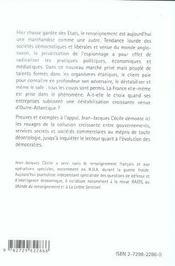 Espionnage Business Guerre Economique Et Renseignement - 4ème de couverture - Format classique