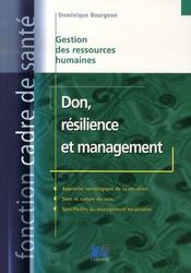 Vente livre :  Don, résilience et management  - Bourgeon Domini