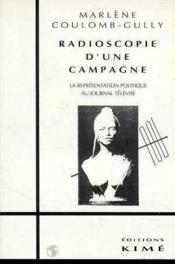 Radioscopie d'une campagne - Couverture - Format classique