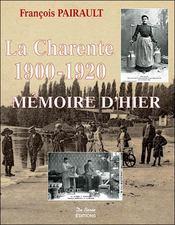 Charente 1900 1920 (La) - Intérieur - Format classique