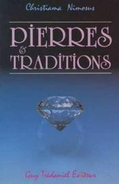 Pierres & traditions - Couverture - Format classique