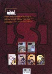 Peche mortel t.3 ; resistances - 4ème de couverture - Format classique