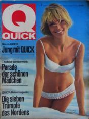 Quick N°7 - Couverture - Format classique