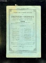 Bulletin De La Societe Francaise Des Ingenieurs Coloniaux N° 72 2 Em Trimestre 1917. - Couverture - Format classique