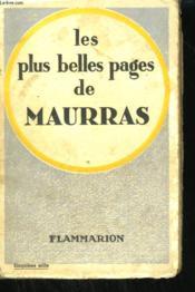 Les Plus Belles Pages De Maurras. - Couverture - Format classique