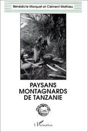 Paysans montagnards de Tanzanie - Intérieur - Format classique